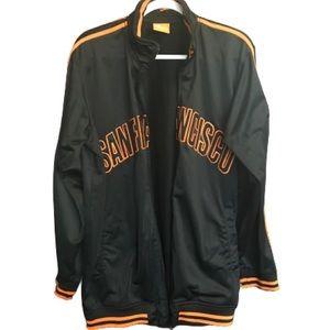 SAN FRANCISCO GIANTS. Men's track jacket size XL